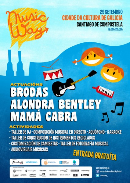 Cartel Music Way Infantil