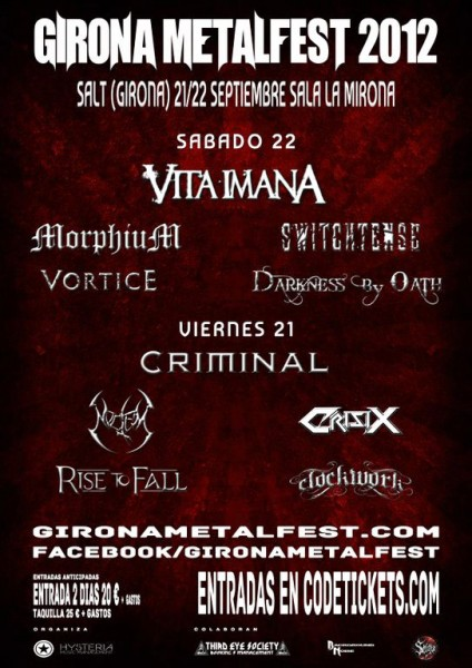 Girona Metalfest 2012