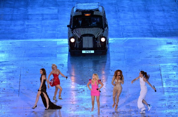 JJOO 2012 - Spice Girls