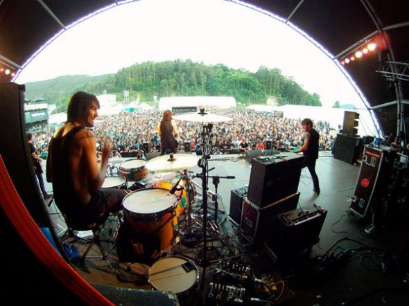 Resurrection Fest 2012 - Against Me!
