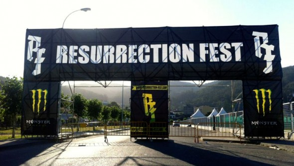 Resurrection Fest 2012 - Entrada