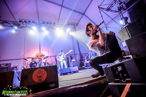 Resurrection Fest 2012 - Glassjaw