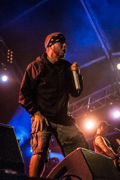 Resurrection Fest 2012 - Hatebreed - Jamey Jasta