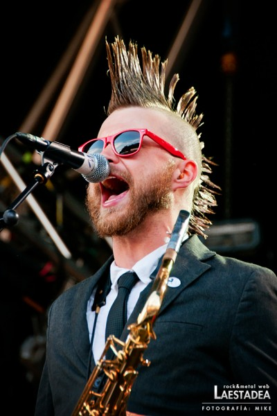 Resurrection Fest 2012 - Reel Big Fish
