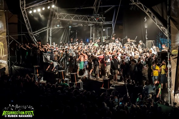 Resurrection Fest 2012 - Suicidal Tendencies (Invasión)