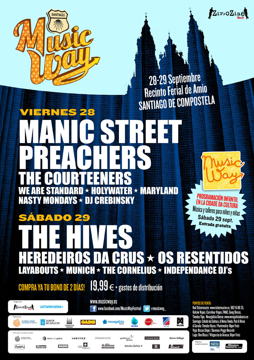 Music Way 2012 - Cartel
