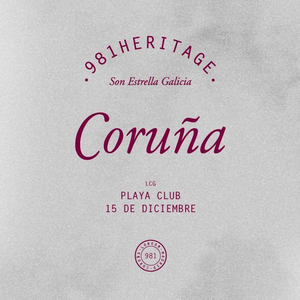981 Heritage A Coruña