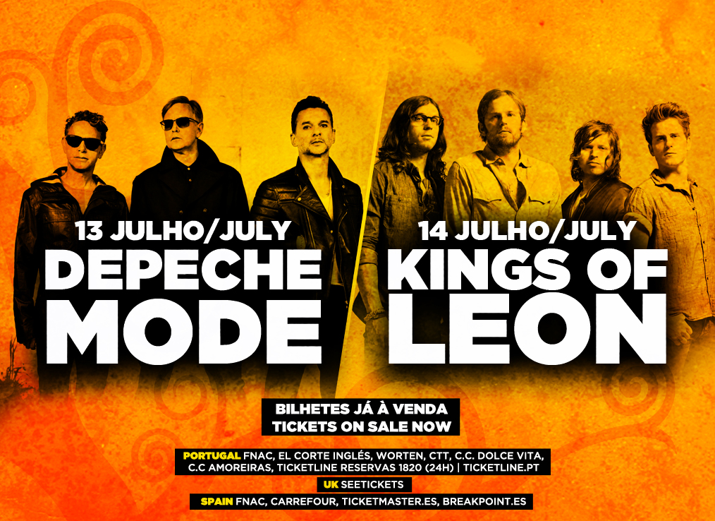 Kings of Leon Depeche Mode Optimus Alive