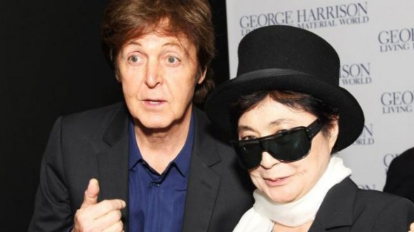 Paul McCartney y Yoko Ono