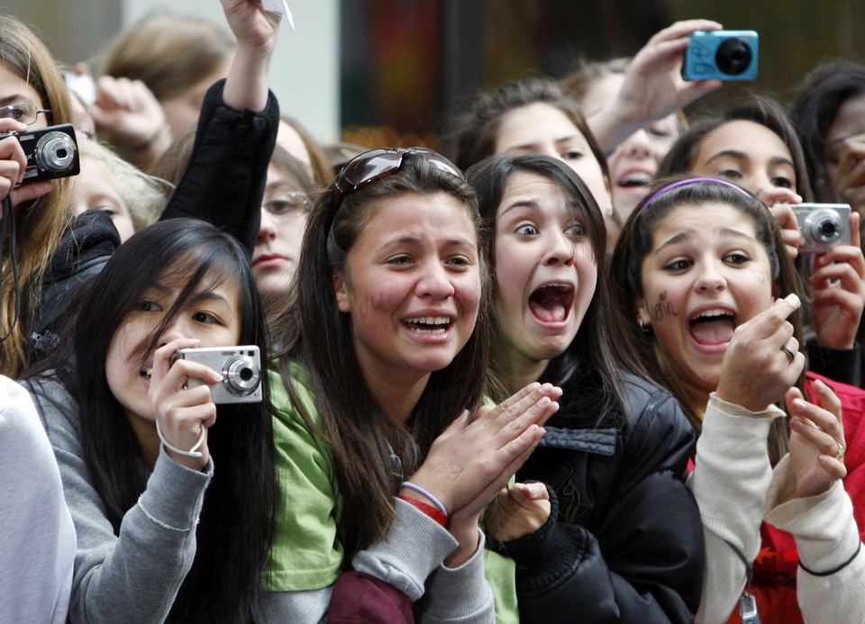 Fans de Justin Bieber