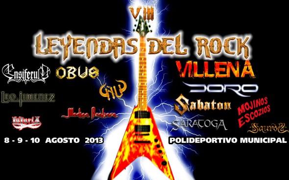 Leyendas del Rock 2013
