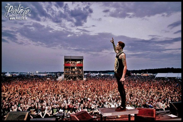 Mitch Lucker Suicide Silence