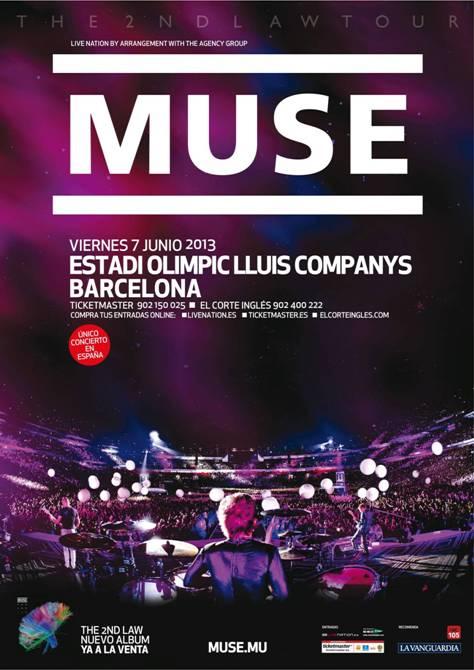 Muse - Barcelona 2013