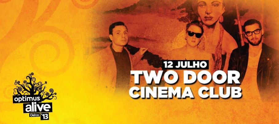 Optimus Alive - Two Door Cinema Club