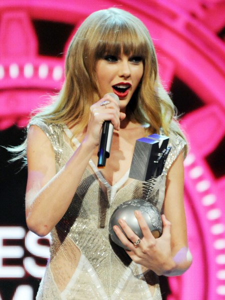 Taylor Swift - MTV EMAs 2012