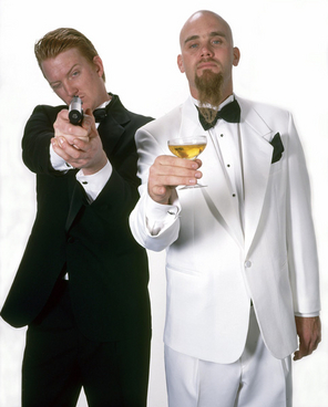 Josh Homme and Nick Oliveri