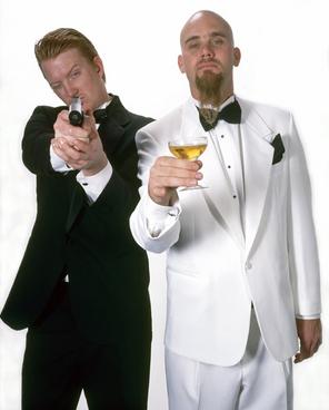 Josh Homme and Nick Oliveri