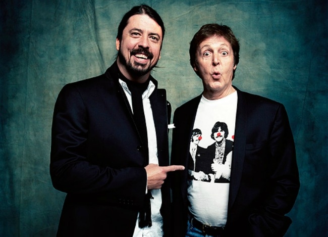 Dave Grohl & Paul McCartney