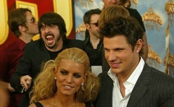 Dave Grohl Photobomb