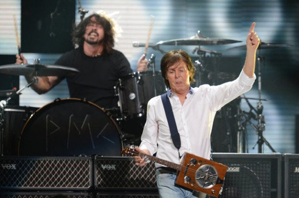 Paul McCartney - Dave Grohl