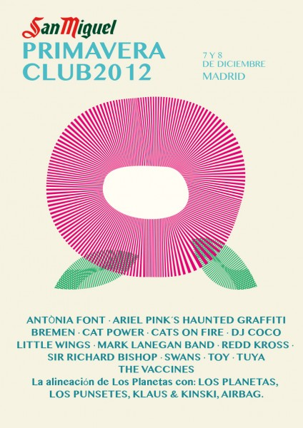 San Miguel Primavera Club Madrid 2012