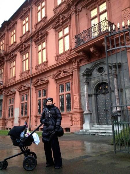 Tarja y su carrito