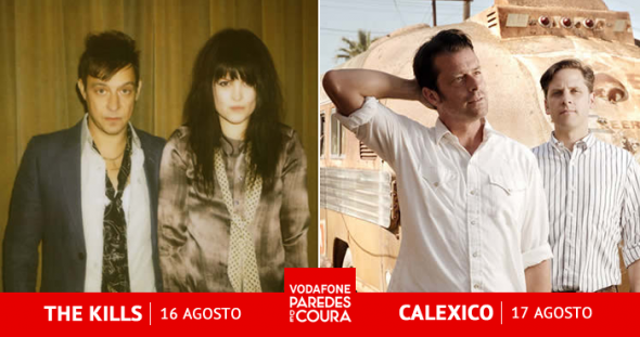 The Kills Calexico Paredes de Coura
