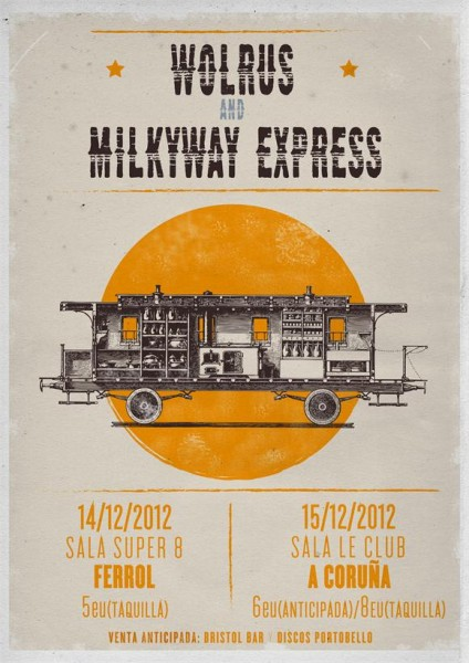 Wolrus & The Milkyway Express