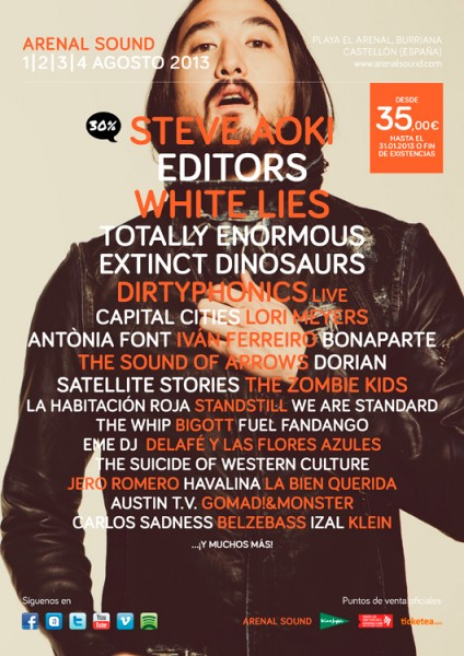 Arenal Sound 2013 - Steve Aoki