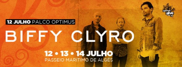 Biffy Clyro Optimus Alive