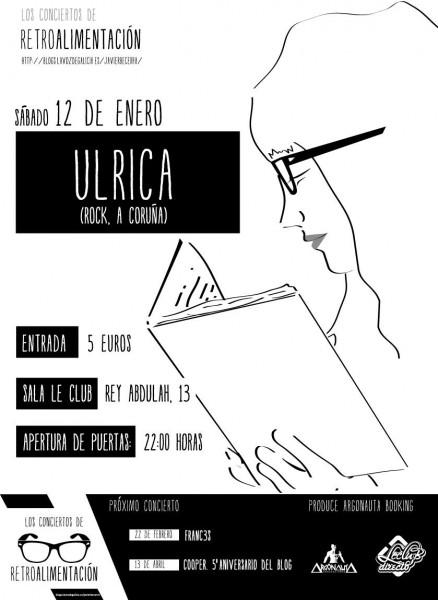 Cartel Concierto Ulrica