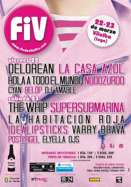 FIV 2013 - Por días