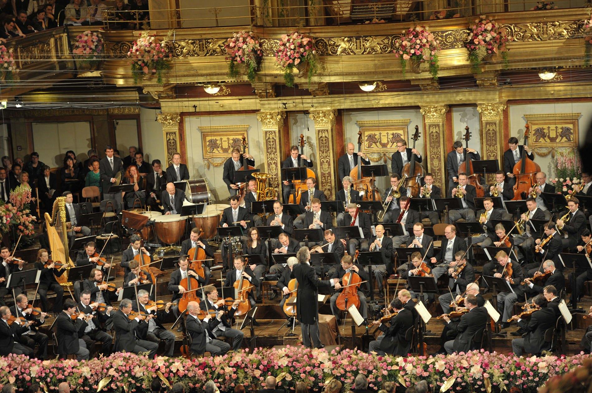 Resultado de imagen de Concierto de Años Nuevo en Viena