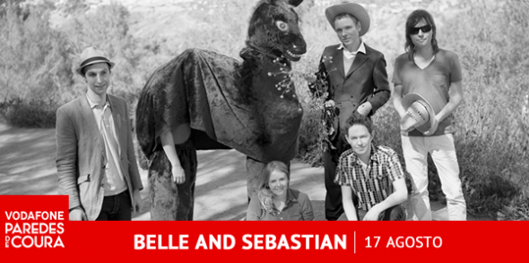Paredes de Coura - Belle & Sebastian