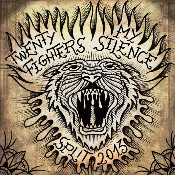 Twenty Fighters & My Silence - Split 2013