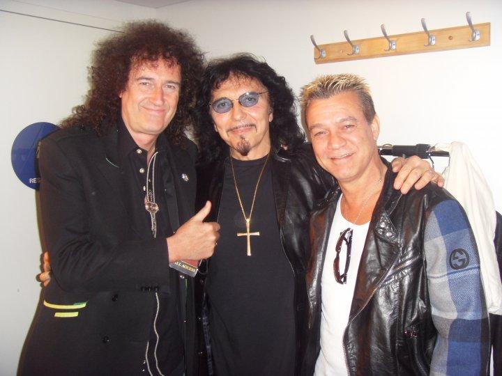 Brian May Tony Iommi Eddie Van Halen