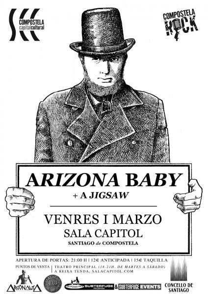 Cartel Arizona Baby Santiago Capitol