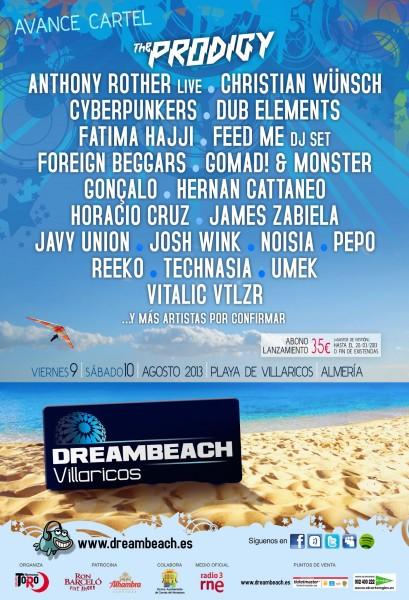 Dreambeach Villaricos 2013