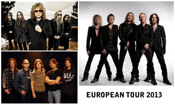 Gira de Def Leppard, Europe y Whitesnake