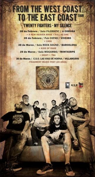Twenty Fighters & My Silence - Tour 2013