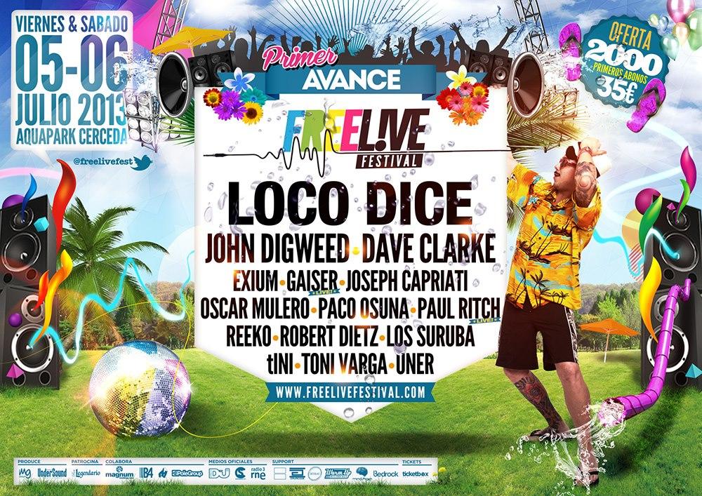 Freelive Festival 2013