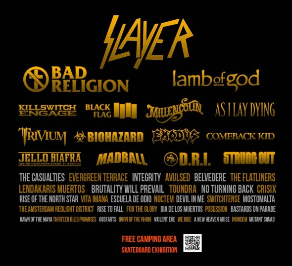 Resurrection Fest 2013 - Cartel provisional