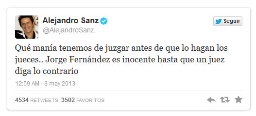 Alejandro Sanz - Twitter