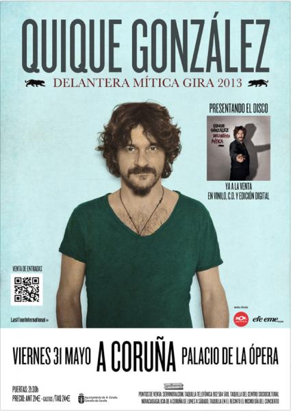 Quique González A Coruña