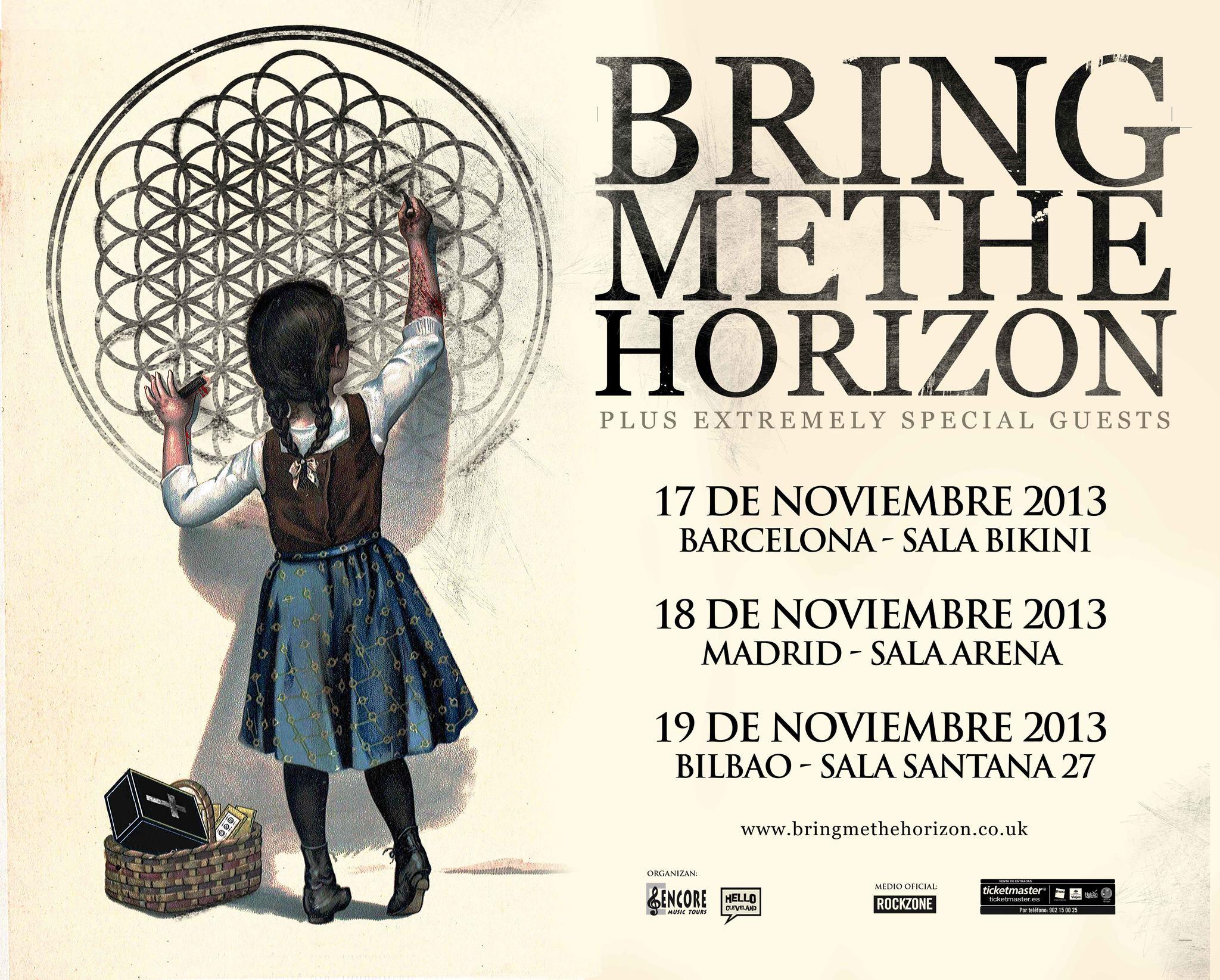 Bring Me The Horizon - Gira España 2013