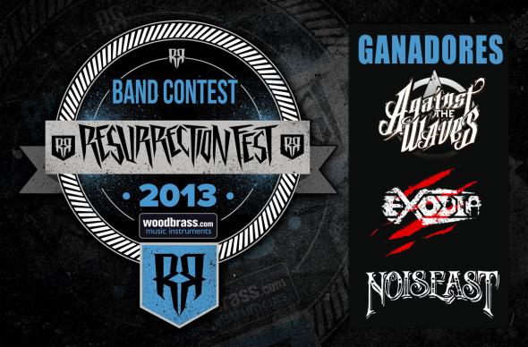 Resurrection Fest 2013 - Band Contest