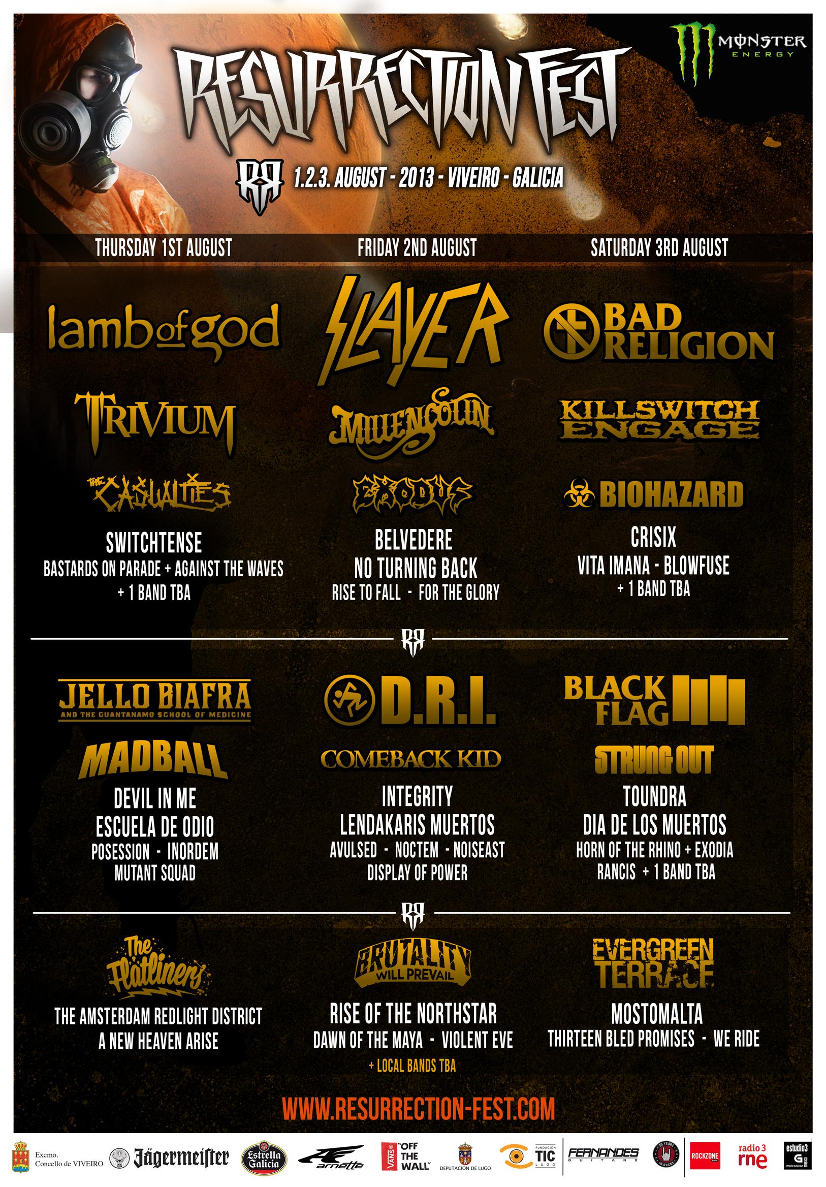 Resurrection Fest 2013 - Days