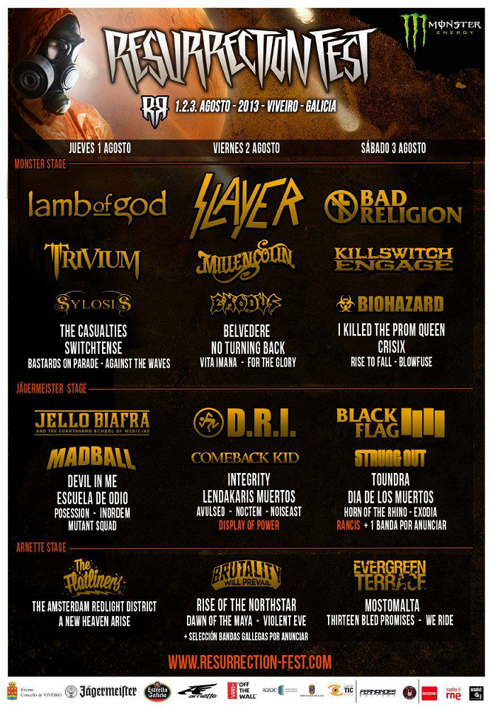 Cartel Resurrection Fest 2013
