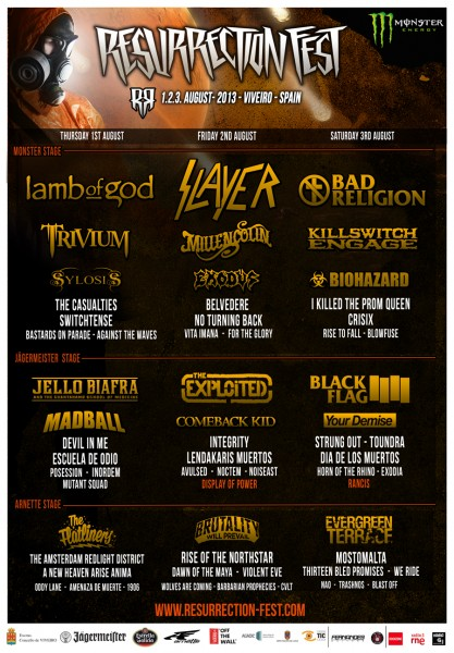 Resurrection Fest 2013 - Final