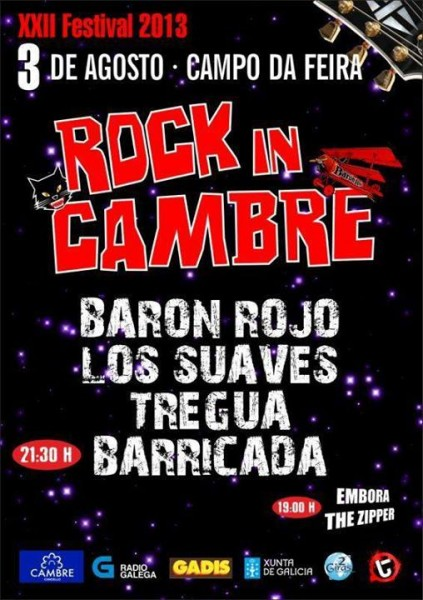 Rock In Cambre 2013